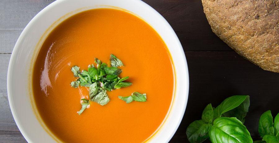 Kies uit verschillende soorten soep